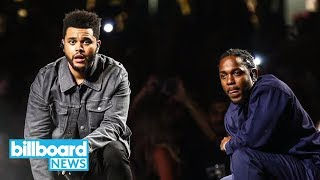 Kendrick Lamar & The Weeknd Release 'Black Panther' Track 'Pray For Me' | Billboard News