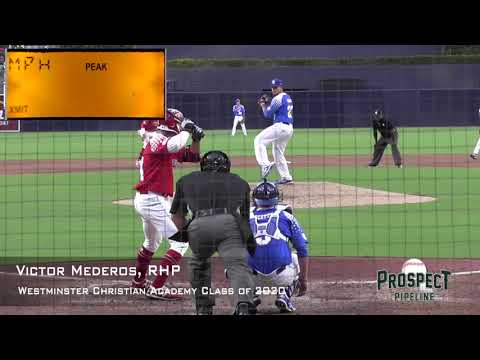 Victor Mederos Prospect Video, RHP, Westminster Christian Academy Class Of 2020