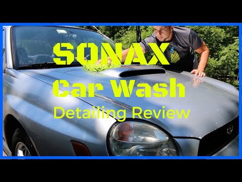 Sonax Car Wash Review - Germany's Best Car Soap?