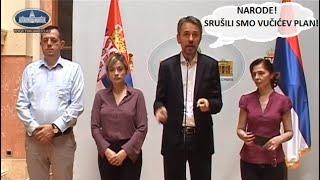 Skupština: Sud stao na stranu DJB, Vučić nije uspeo da sprovede svoj plan na izborima
