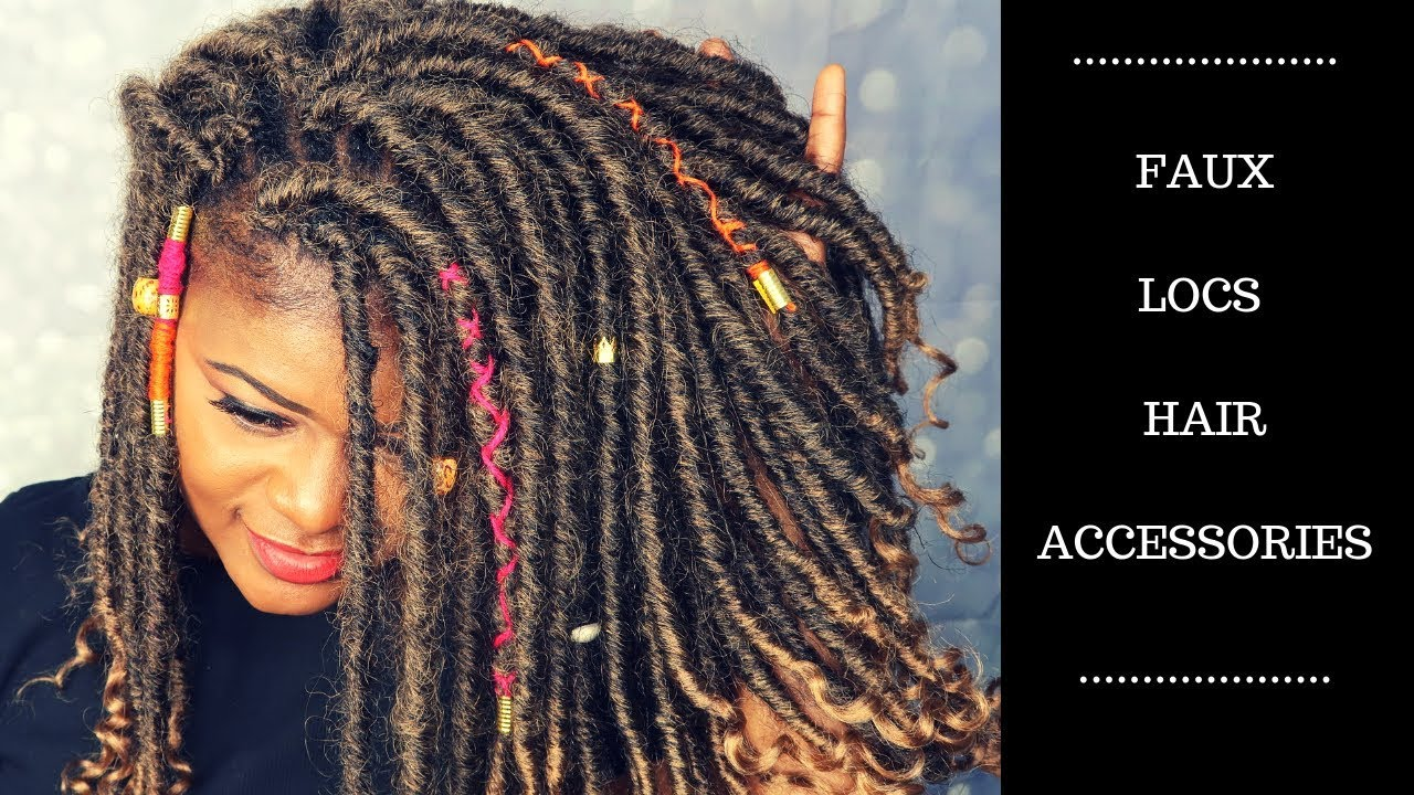 Images Of Hair Jewelry Faux Locs Accessories