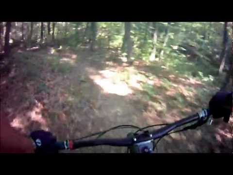 The Brier Creek Trail, Mountain Biking Nolin Lake State Park, Mammoth Cave KY (720P HD)