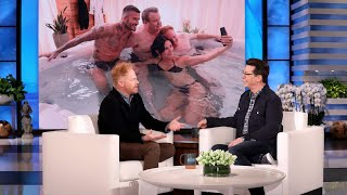 Jesse Tyler Ferguson's Hot Tub Time with David Beckham