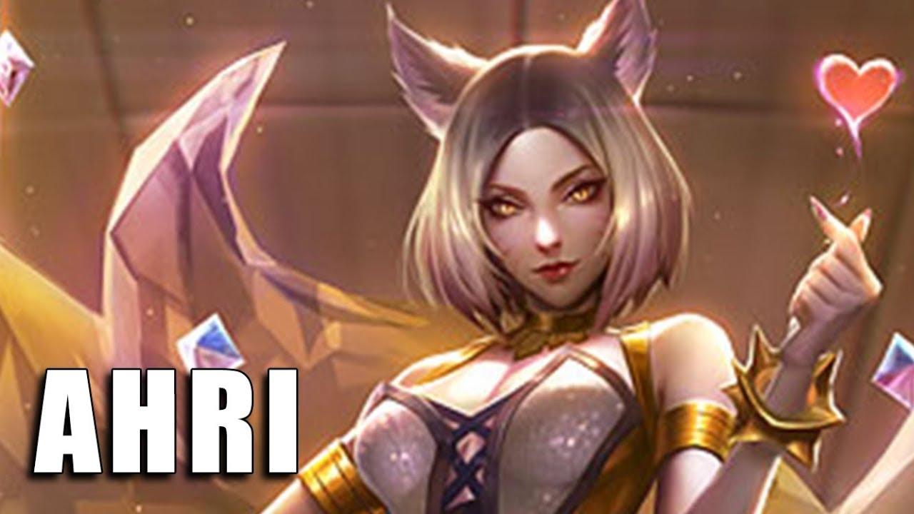 Kda Ahri Edição De Prestigio League Of Legends Completo