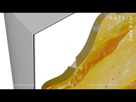 Matrix Frame - Light Box Profile 200 - YouTube