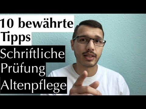 Schriftliche Prüfung Altenpflege: