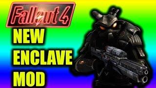 Fallout 4 New Mod |Enclave Remnant Bunker Mod