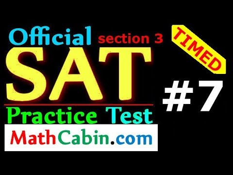 Most Powerful SAT Math Strategies for 2018 (Section 3, New SAT Practice Test #7) SAT Prep