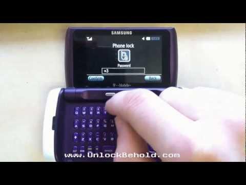 T559 Samsung Comeback Read Phone Lock Password