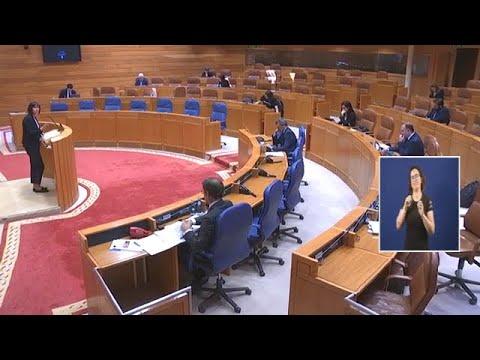 Ana Pontón ponlle a Feixoo o punto sobre as íes na súa comparencia no Parlamento Galego
