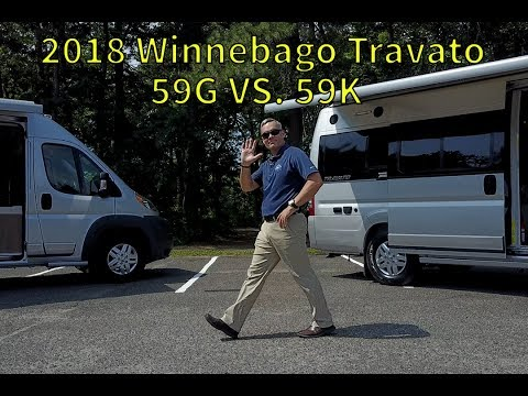 Walk Through 2018 Winnebago Travato 59K vs  59G Ram Promaster