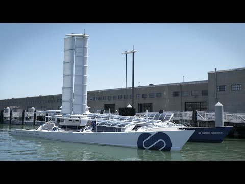 How this hydrogen-powered vessel creates its own energy