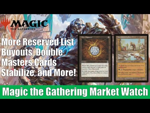 MTG Market Watch: Reserved List Buyouts, Double Masters Card Prices Stabilize, and More