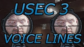 USEC 3 Voice Lines, Escape From Tarkov Patch 11.7.2 Patch FortyOne