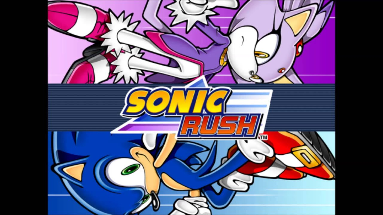 Sonic Rush Ost Back 2 Back Cd Version For Water Palace Youtube