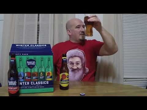 Samuel Adams Winter Classics 2017 variety pack beer review
