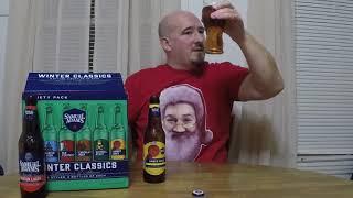 Samuel Adams Winter Classics 2017 variety pack beer review