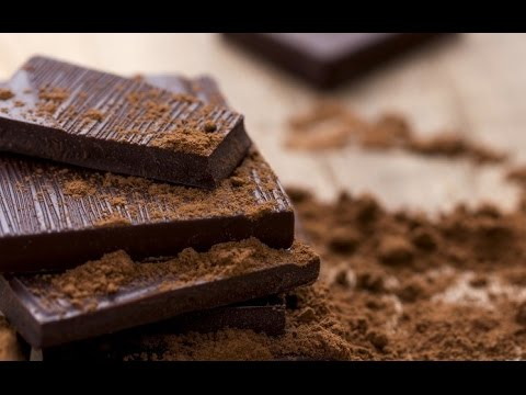 how to make chocolate from cocoa powder - YouTube