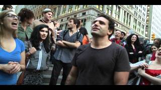 Occupy Wall Street Chants Egyptian Freedom Song with Stephan Said Thumbnail