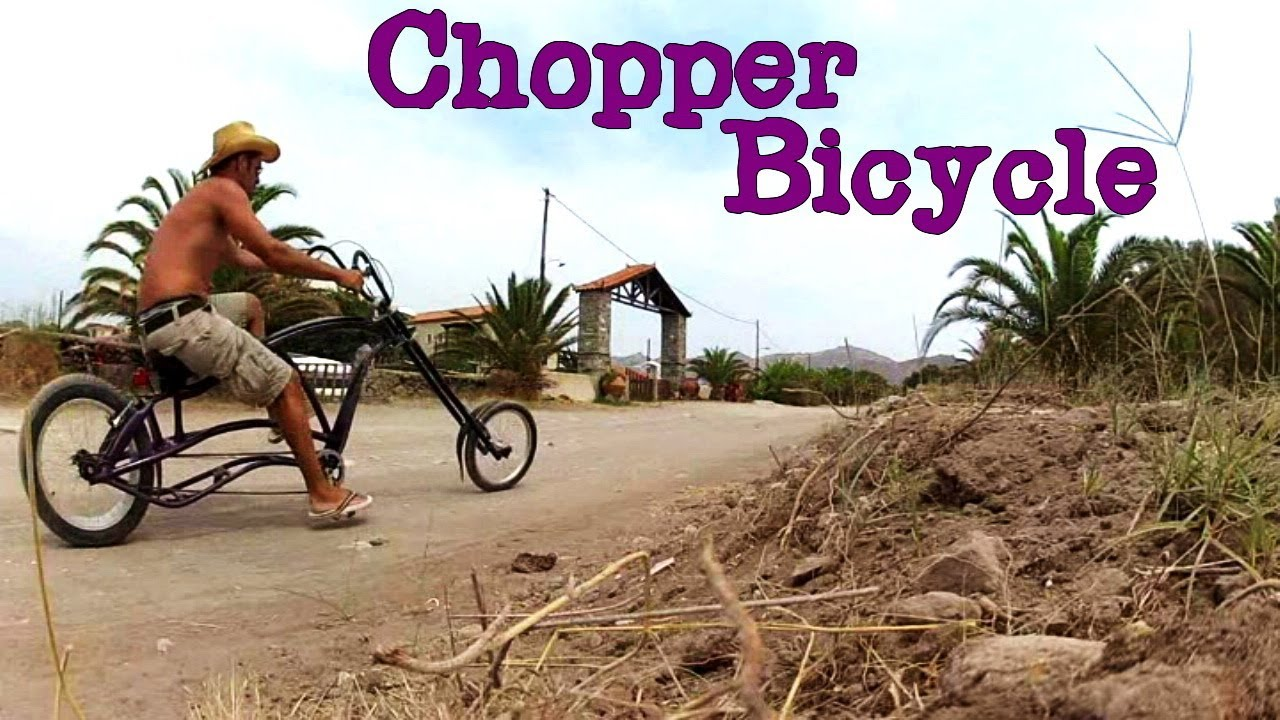 Homemade Chopper Bike!