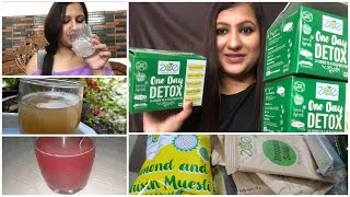 Lose 6kg in a month / One day detox diet for weight loss/ My one month results