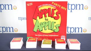 Gambar cover Apples to Apples from Mattel