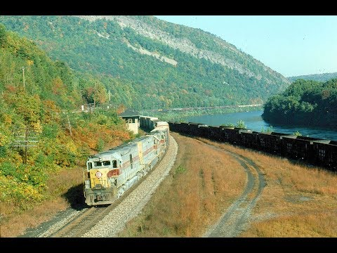 Lackawanna Cut-Off - Part 12: Freight Trains Over the Cut-Of