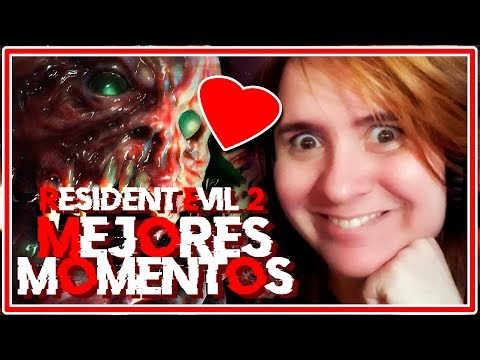 RESIDENT EVIL 2 REMAKE | MEJORES MOMENTOS TIGRY |