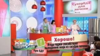 Елена Малышева о ягодах годжи для похудения