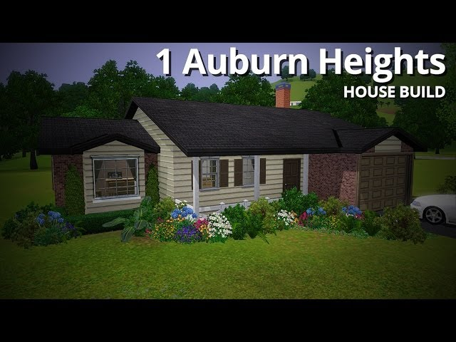 The Sims 3 House Building - 1 Auburn Heights (No EPs or SPs!)