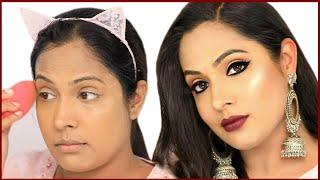 Easy BOLD KAJAL Look Festive Makeup for Beginners in Hindi | Shruti Arjun Anand