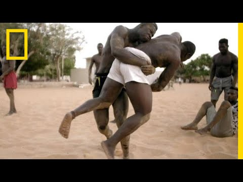 A Senegalese Wrestler Trains to Become the 'King of the Arena'  Short Film Showcase