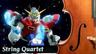 Gundam Build Fighters Try OP 2 - String Quartet | ガンダムビルドファイターズトライ OP2「Just Fly Away」