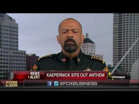 Sheriff Clarke: Kaepernick reinforces the stereotype of the dumb jock