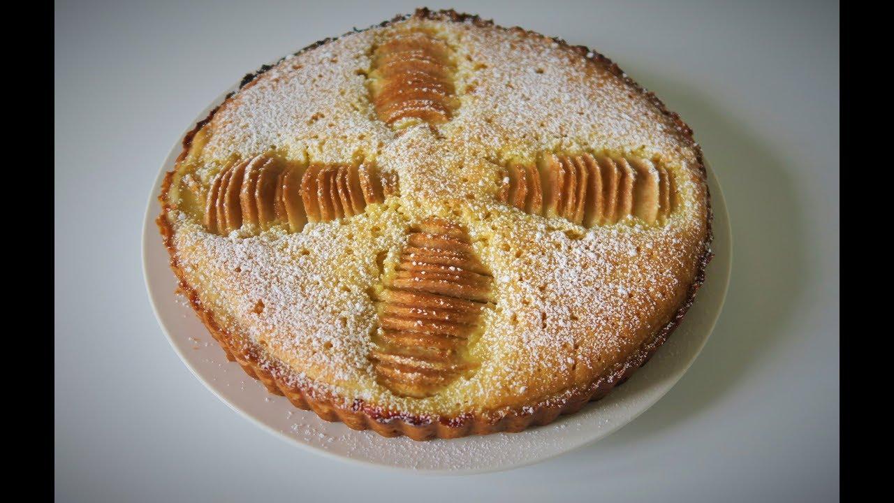 Recette 98 Tarte Poire Amandine Facile Pear Almond Tart