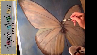 Jezebel Butterfly Time Lapse Painting