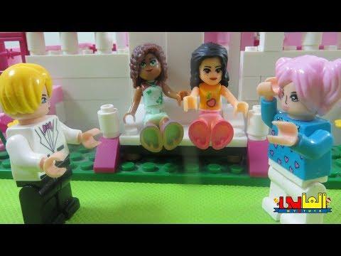 لعبة نسرين وصاحبتها  نهى مش عاجبها شكلها  للأطفال ألعاب العرائس والدمى للأولاد والبنات