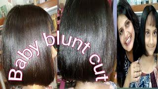 How to cut cap cut/Baby Blunt cut / Baby rasna cut/ Seema jaitly