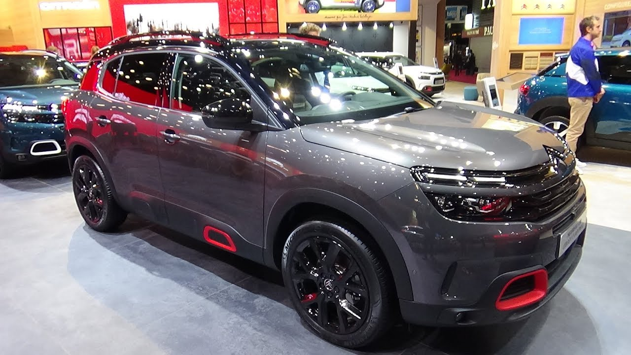 2019 citroen c5 aircross exterior and interior paris auto show 2018 youtube. Black Bedroom Furniture Sets. Home Design Ideas
