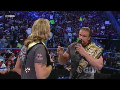 Triple H Returns to Smackdown! (2/2)