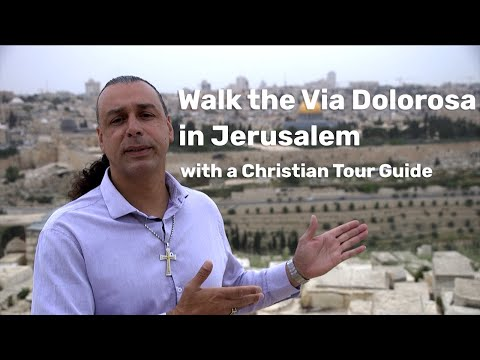 Visiting Jerusalem With Daniel Sahwani - A Christian Tour Guide