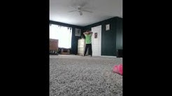 Sister caught dancing hidden camera