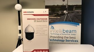 Hikvision DS-2DF8836IV-AELW 4K 8MP PTZ unboxing by Intellibeam.com