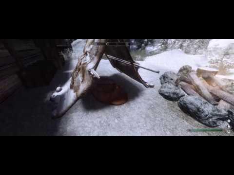 Flickering moving shadows: Skyrim Special Edition pt 1