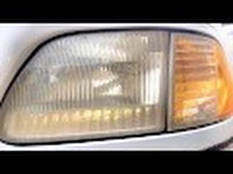 Headlight Restoration Using Vinegar & Baking Soda