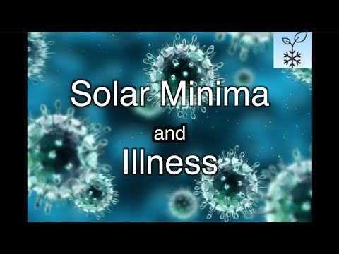 Why is Flu at RECORD levels? Immunosuppressive effects of Solar Minimum / virus from outer space?