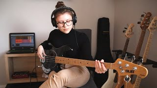 Silk Sonic - Leave The Door Open (Bass Cover)