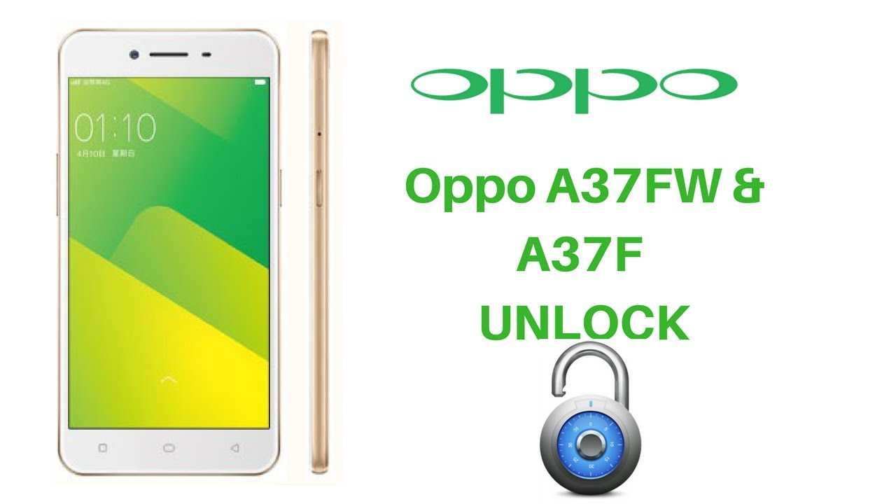 Oppo A37FW 16 Digit Code Unlocking New Security Modification File