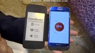 PocketBook CoverReader e-Ink Smatphone case Hands On - IDBOOX