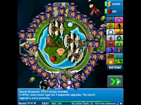 Bloons Tower Defense 4 (HACKED)